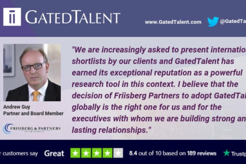 GatedTalent Signs Global Agreement with International Executive Search Partnership