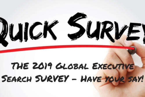 The 2019 Global Executive Search Survey