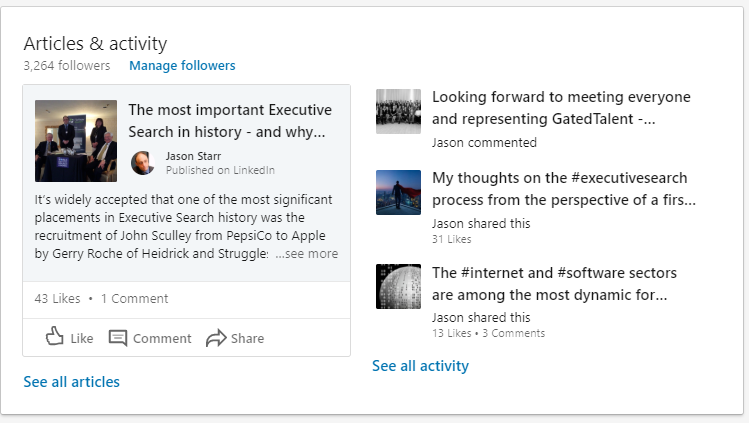 Linkedin engagement matters