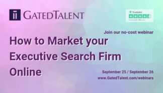 FREE webinar for executive recruiters