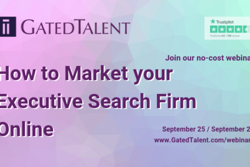 [FREE Webinar] How To Market Your Executive Search Firm Online