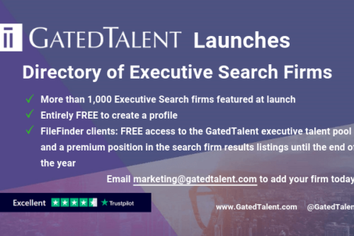 GatedTalent Announces Global Directory of Executive Search Firms